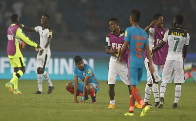 FIFA U-17 WC: Ghana ends India's World Cup adventure