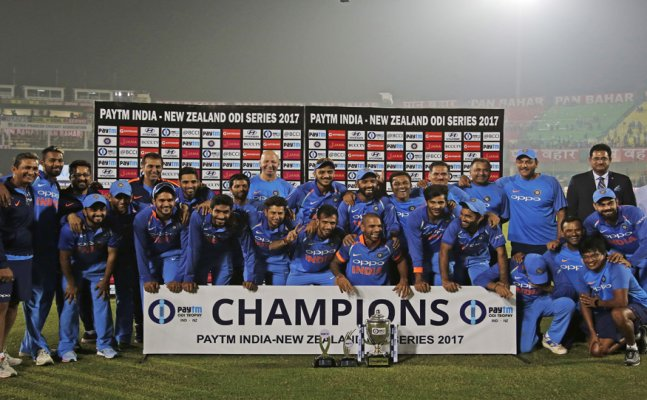 IND vs NZ: India win thriller to clinch series 2-1