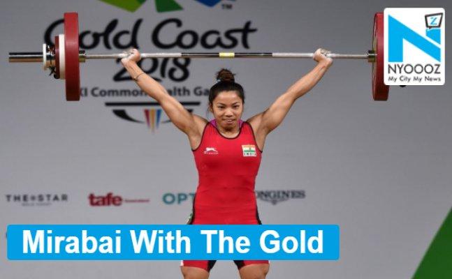 CWG 2018: Mirabai Chanu Clinch Gold, Set New CWG Record