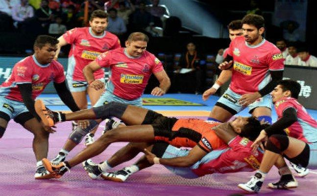 PKL 2017: Jaipur Pink Panthers beat U-Mumba