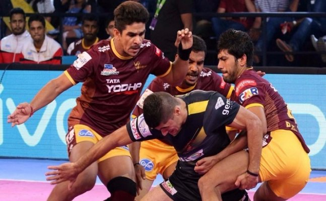 PKL 2017: Titans suffer another loss, Gujarat defeat Delhi
