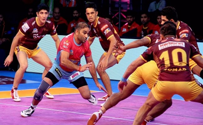 PKL 2017: Jaipur Pink Panthers and Puneri Paltan victorious on Sunday