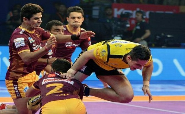 PKL 2017: UP Yoddha win last home game in another close contest