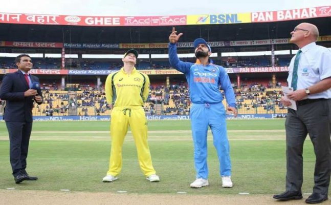 Ind vs Aus: India to chase 243