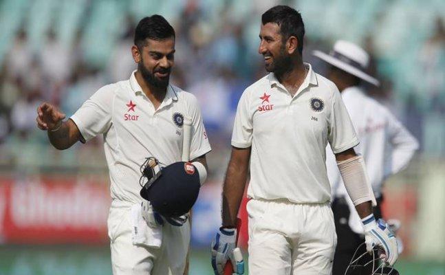Pujara, Jadeja climb to second spot in ICC Test ranking