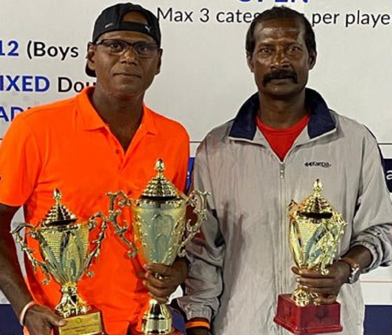 KVN Murthy wins singles crown at Gadre Gaspar Dias Open
