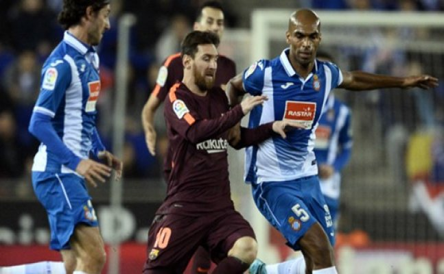 Messi misses penalty as Bercelona goes down to Espanyol by 1-0
