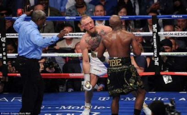 Mayweather outclasses McGregor, knocks him out in the 10th round