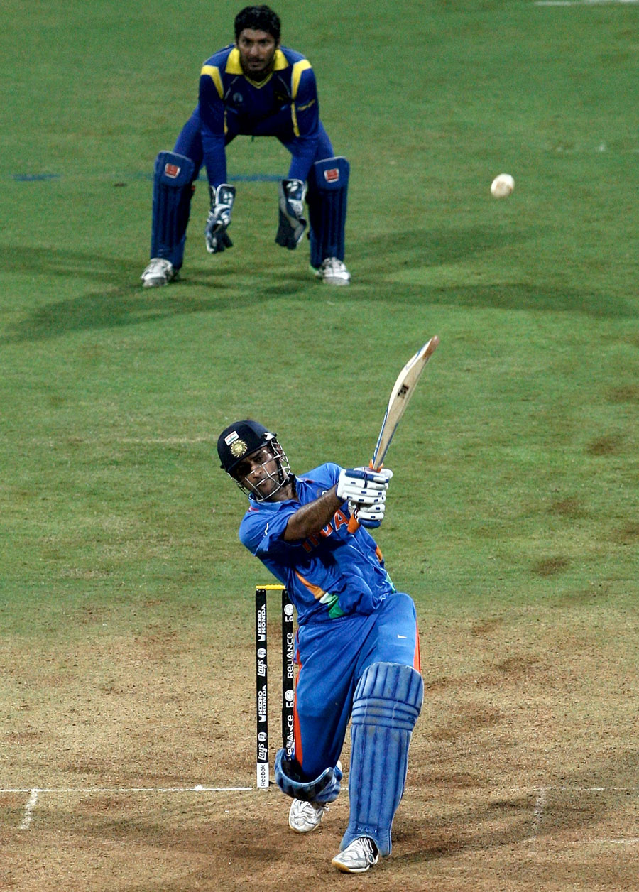Last ball that MS Dhoni hit for six on 2011 World Cup final has been located