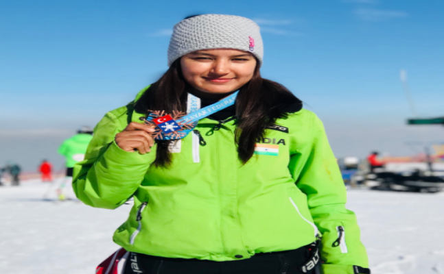 Historic: Aanchal Thakur brings home India's first skiing medal