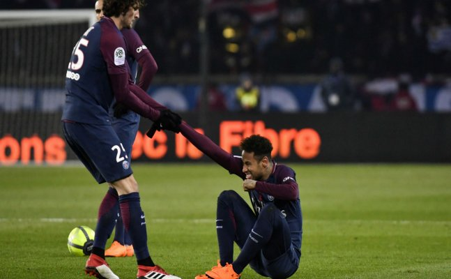 Neymar set to miss Real Madrid clash