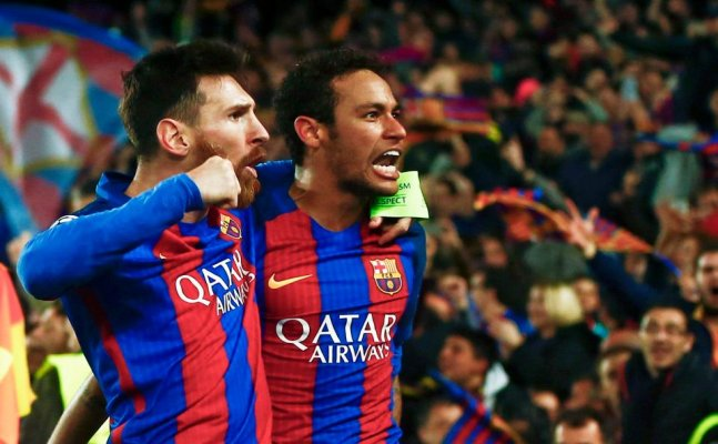 Messi bid emotional farewell to teammate Neymar