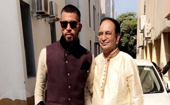 A special gift from Hardik Pandya for his Father
