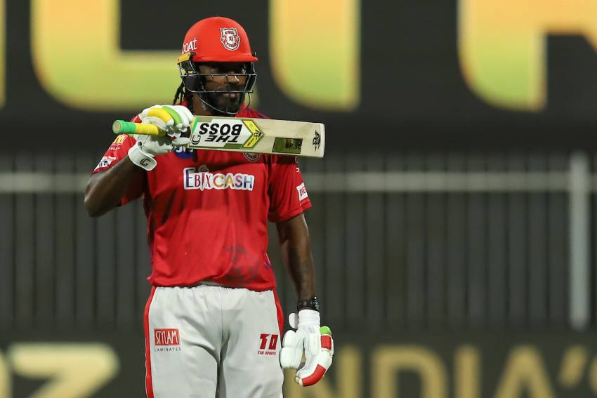 IPL 2020: 'Put some respect on the name' - Chris Gayle explains why he pointed to 'The Boss' sign on his bat after scoring fifty
