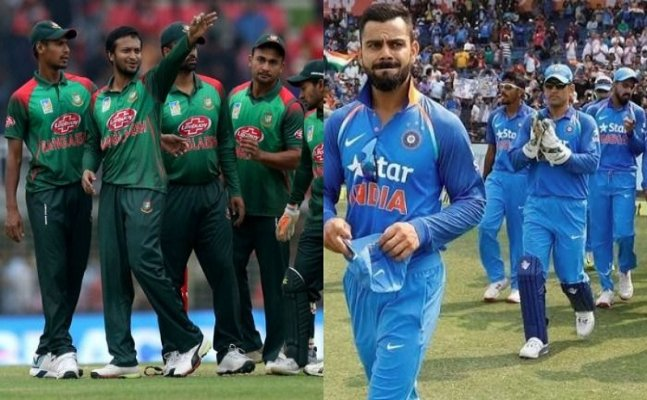 ICC World Cup warm-up: India vs Bangladesh, MS Dhoni and KL Rahul  smashes century