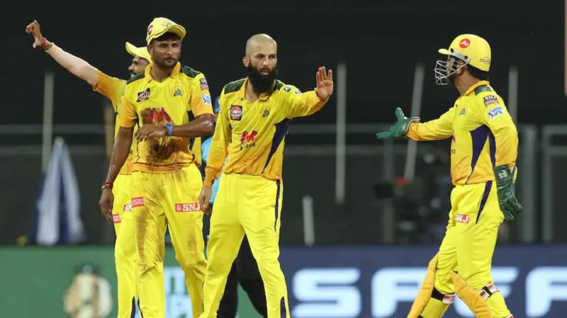 IPL 2021: Moeen Ali, Ravindra Jadeja deliver as CSK choke RR with spin in Mumbai to return to 2nd spot