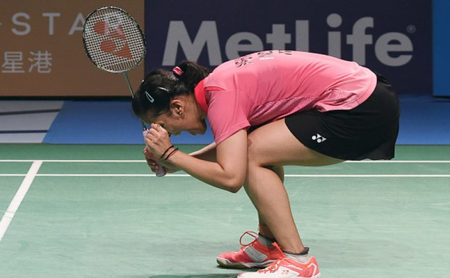 Saina through to next round in Hong Kong Super Series