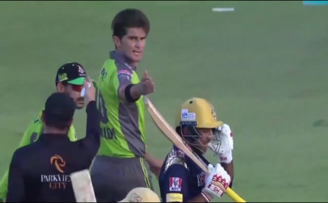 Watch: Former Pak captain Sarfaraz Ahmed and Shaheen Afridi engage into ugly spat during PSL match