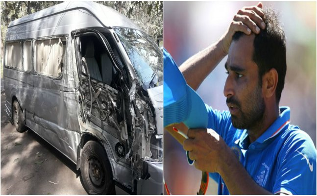 Mohammad Shami injured in a road accident, suffers head injury