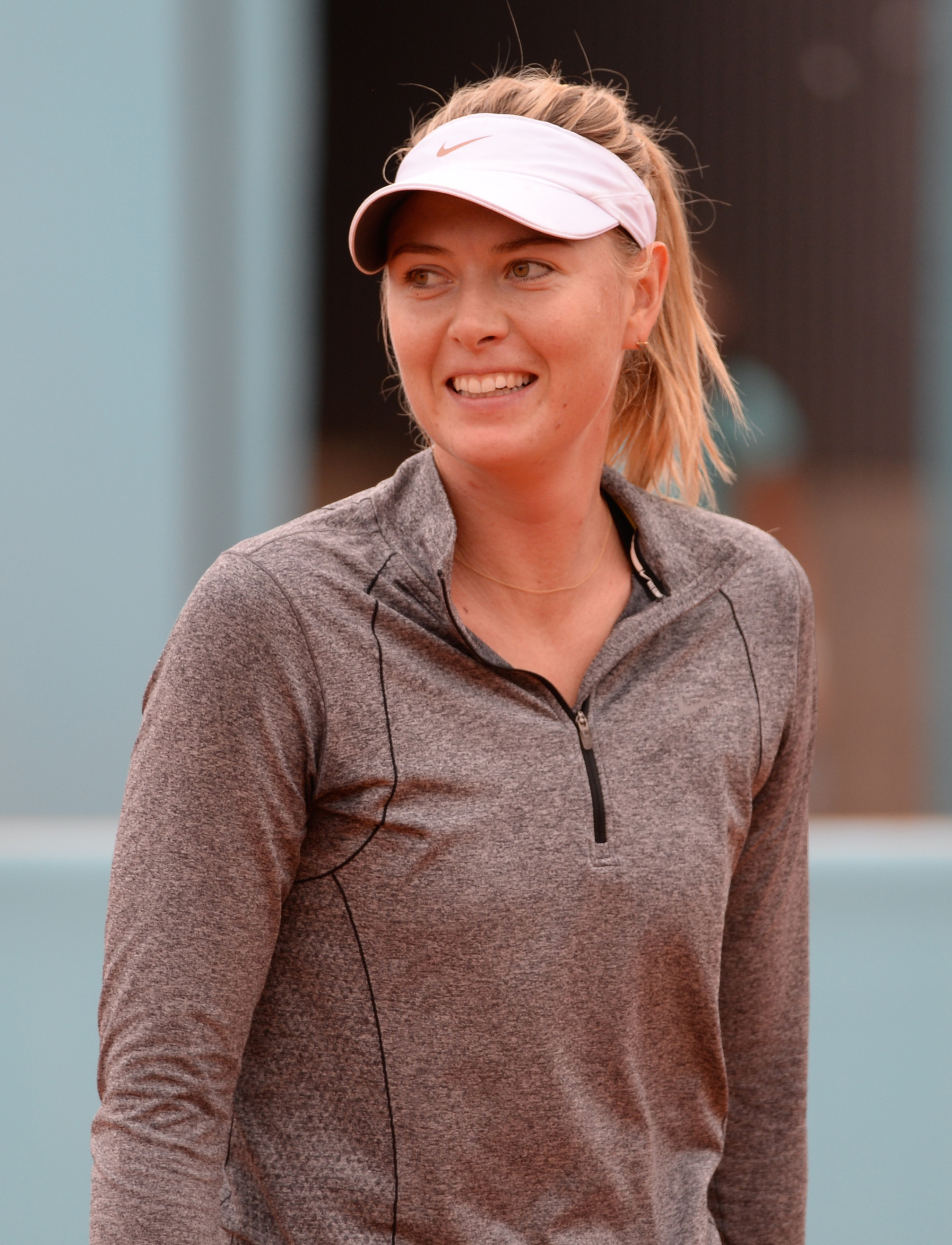 Maria Sharapova opened up about facing doping ban