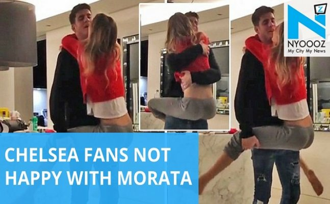 What back Injury? Morata filmed dancing