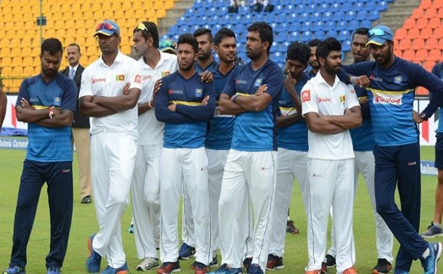 What has happened to the Sri Lanka cricket team?