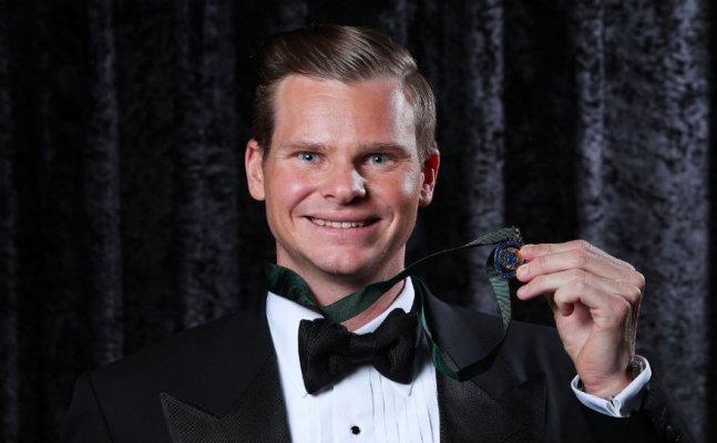 Steve Smith wins Allan Border Medal