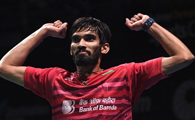 Kidambi Sail Into Denmark Open Final