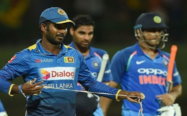 SL Captain banned for 2 matches due to slow over rate