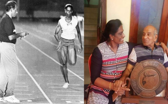 Track legend PT Usha's coach OM Nambiar passes away at the age of 89