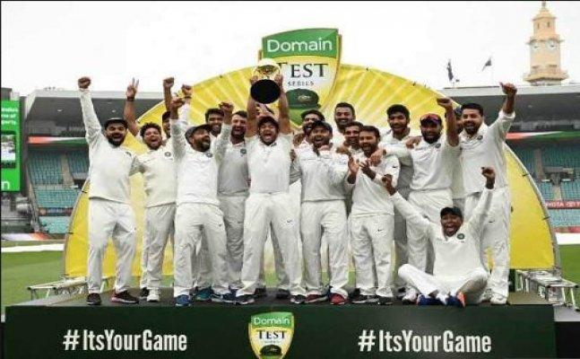 India Won Maiden Test Series Down Under