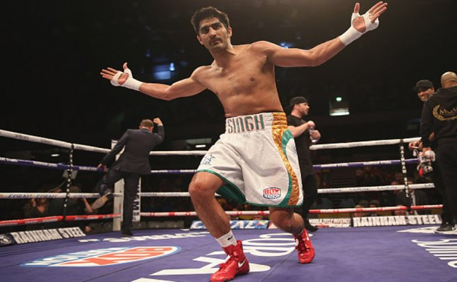 Vijender Singh verus Rocky Fielding set for 2018