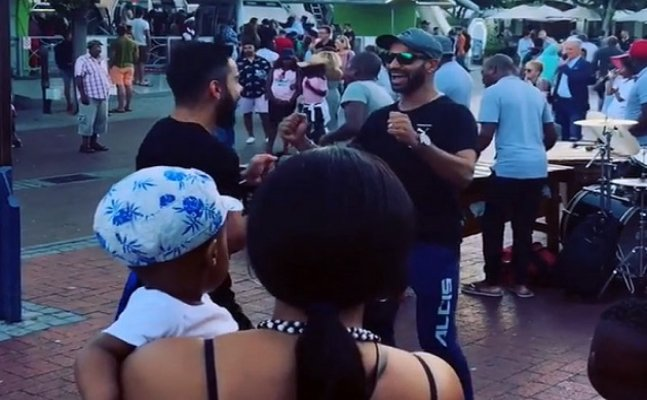 Watch: VIrat, Dhawan dancing in streets of Cape Town