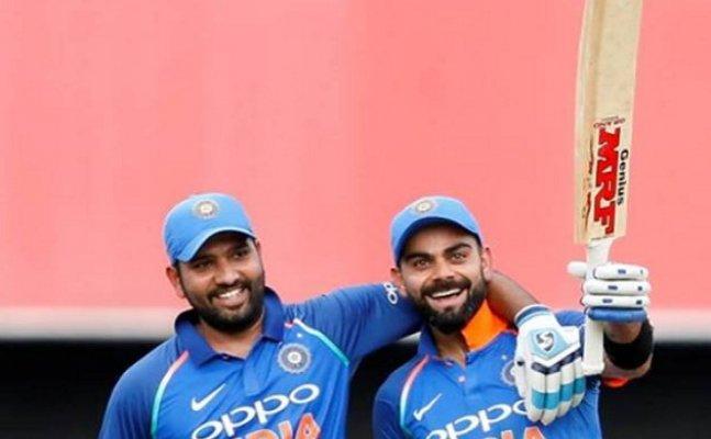 Watch: Rohit Sharma interviews Virat Kohli after the 4th ODI