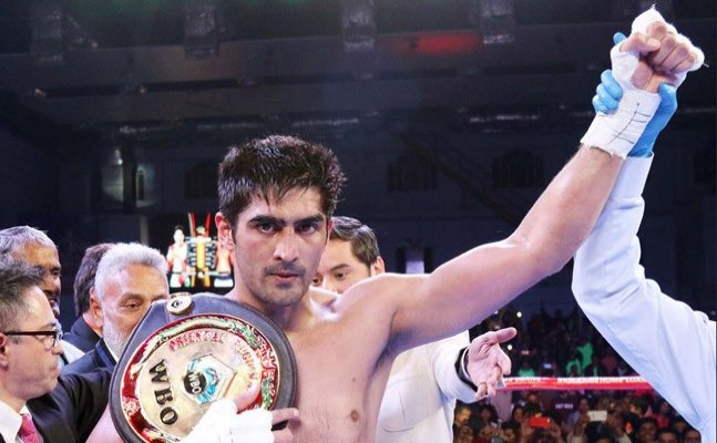 Undefeated: Virender Singh beats Ernest Amuzu, next stop Commonwealth title