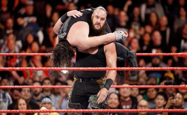 WWE RAW: Strowman destroy Elias, Woken Matt Hardy makes debut