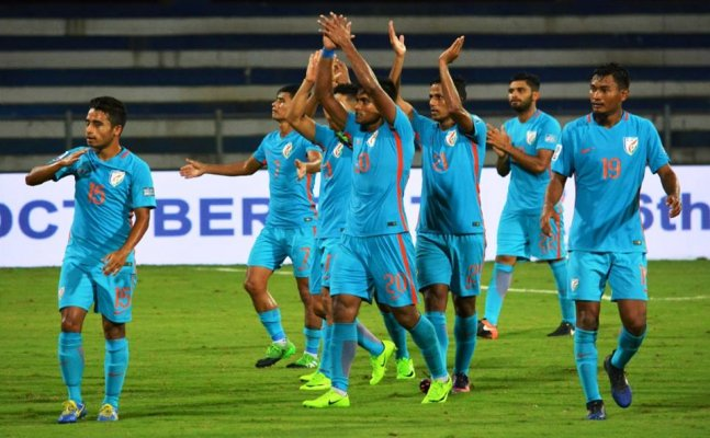 India remain at 105th spot in the latest FIFA ranking