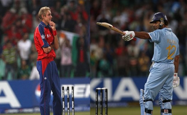 On This Day: Yuvraj Singh became 1st player to hit six 6s in a T20 match