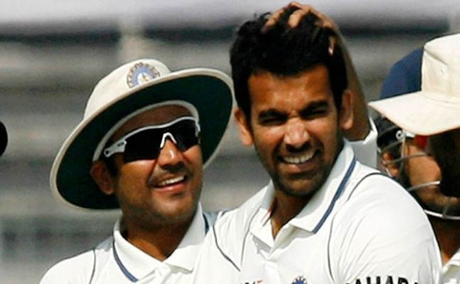 Sehwag wishes Zaheer Khan on his birthday which includes hilarious warning